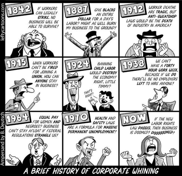 History of Corporate Whining